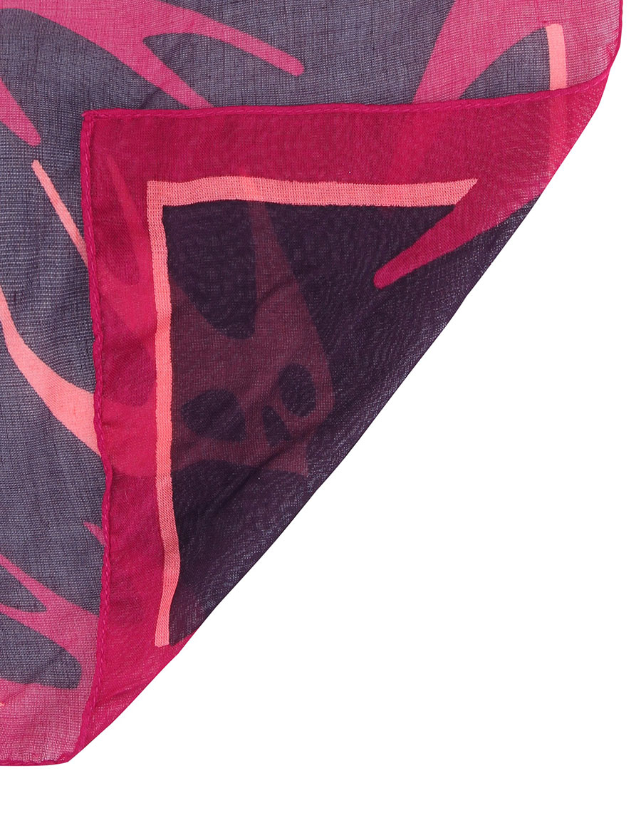 ALEXANDER MCQUEEN Swallow printed scarf