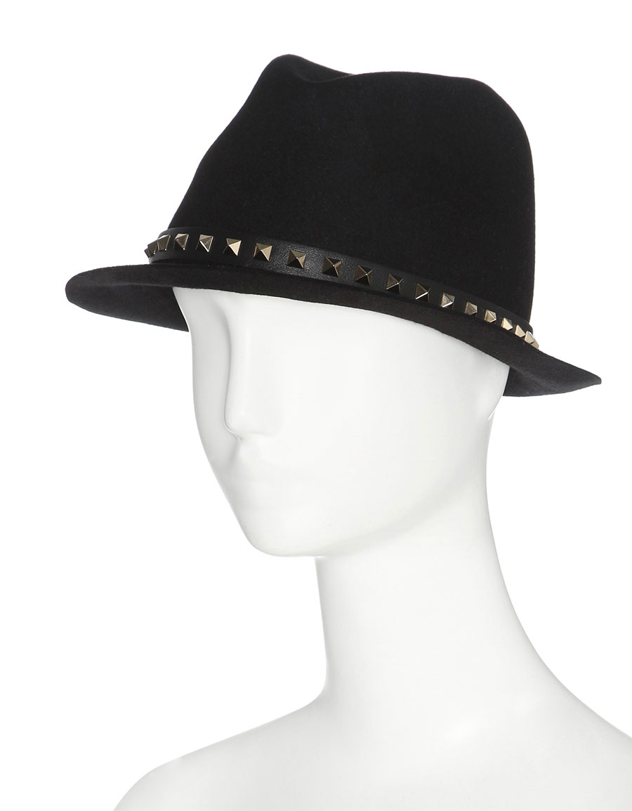 VALENTINO Valentino Garavani Rockstud angora hat