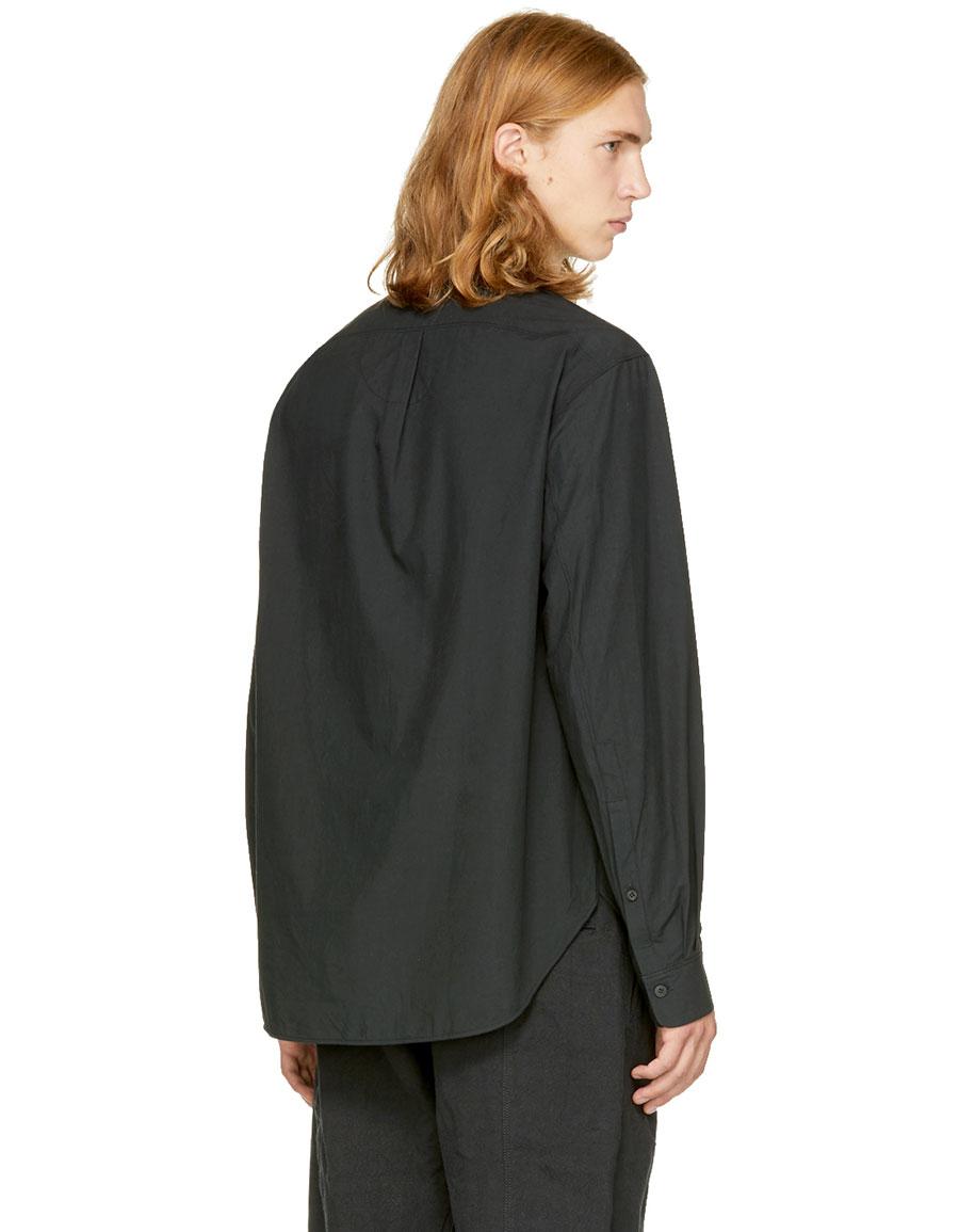 ZIGGY CHEN Black Patch Pocket Shirt