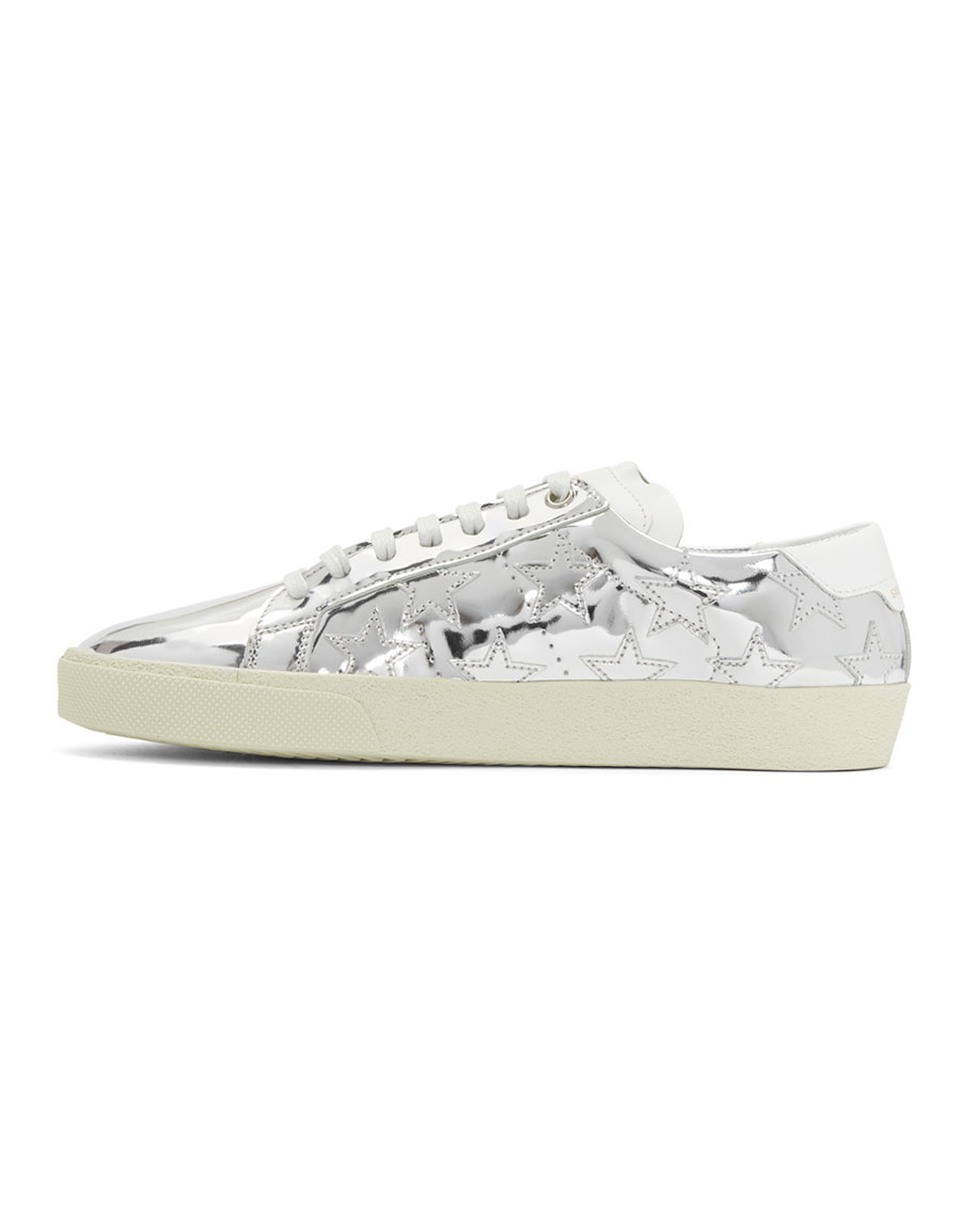 SAINT LAURENT Silver Court Classic SL/06 California Sneakers