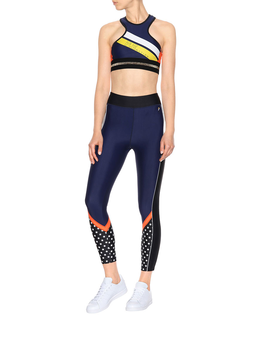 P.E NATION Down To The Wire leggings