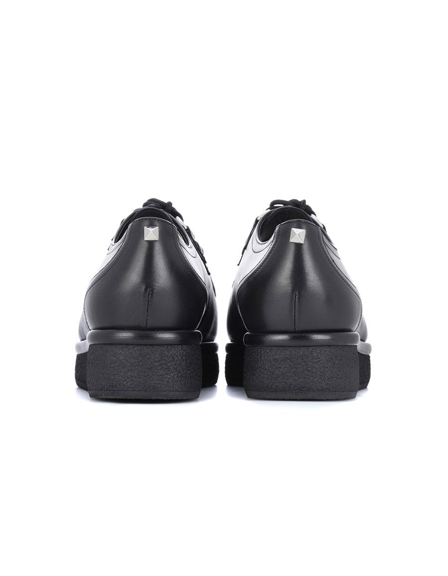 VALENTINO Valentino Garavani leather Derby shoes