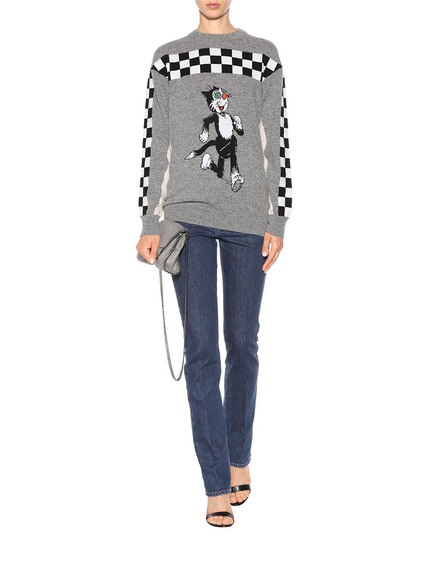 STELLA MCCARTNEY The Dandy virgin wool sweater