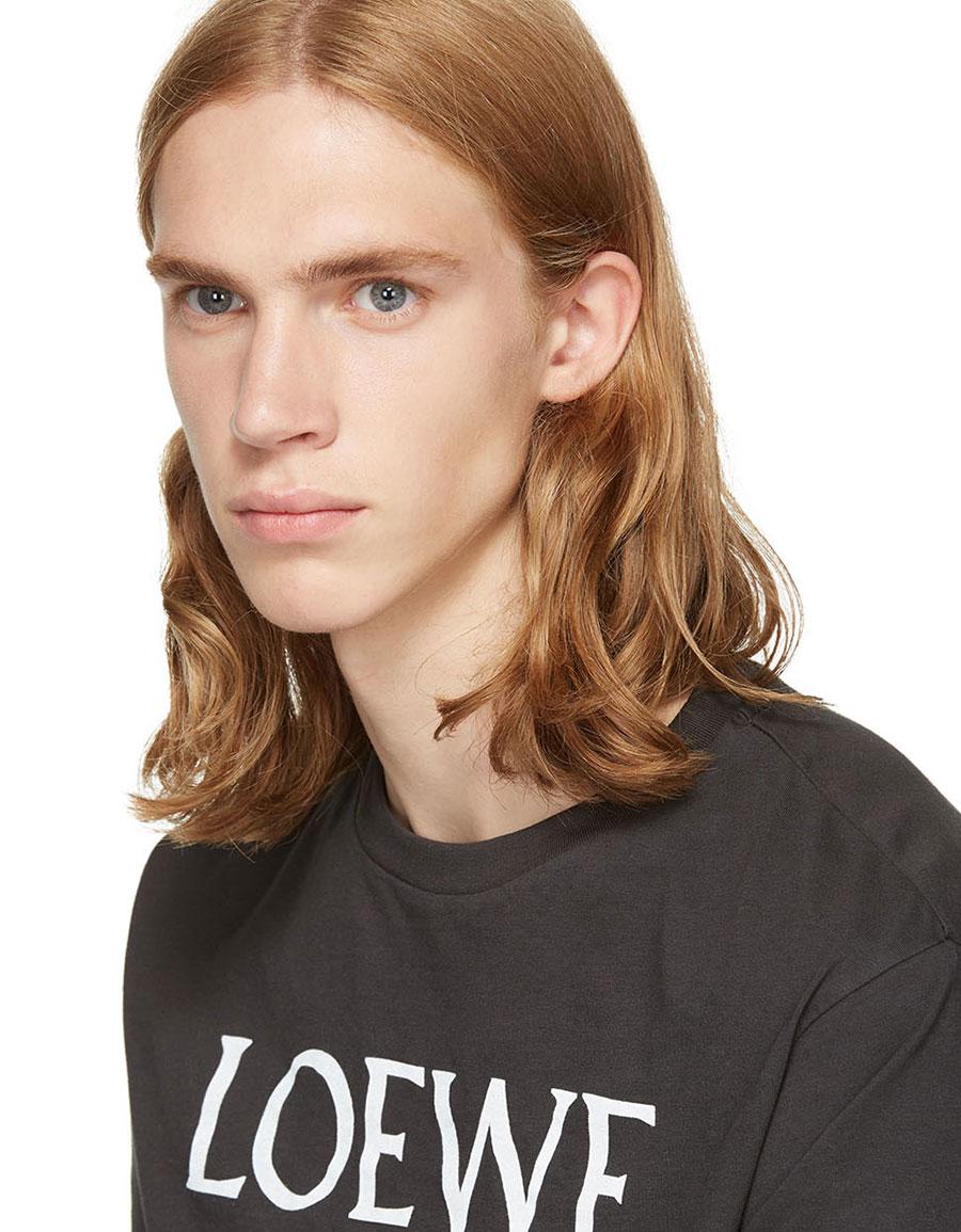 LOEWE Black Dog T Shirt