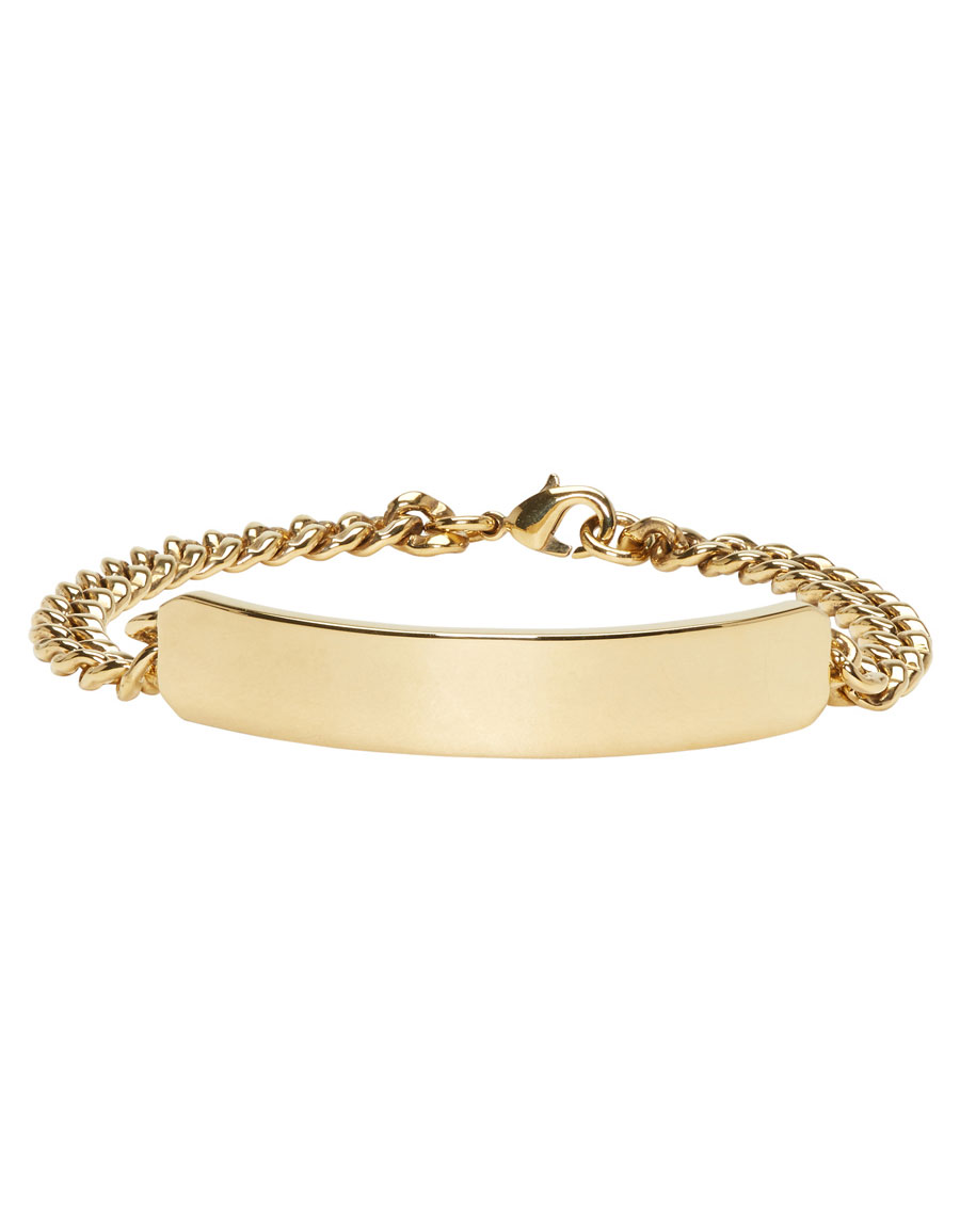 A.P.C. Gold Darwin Bracelet