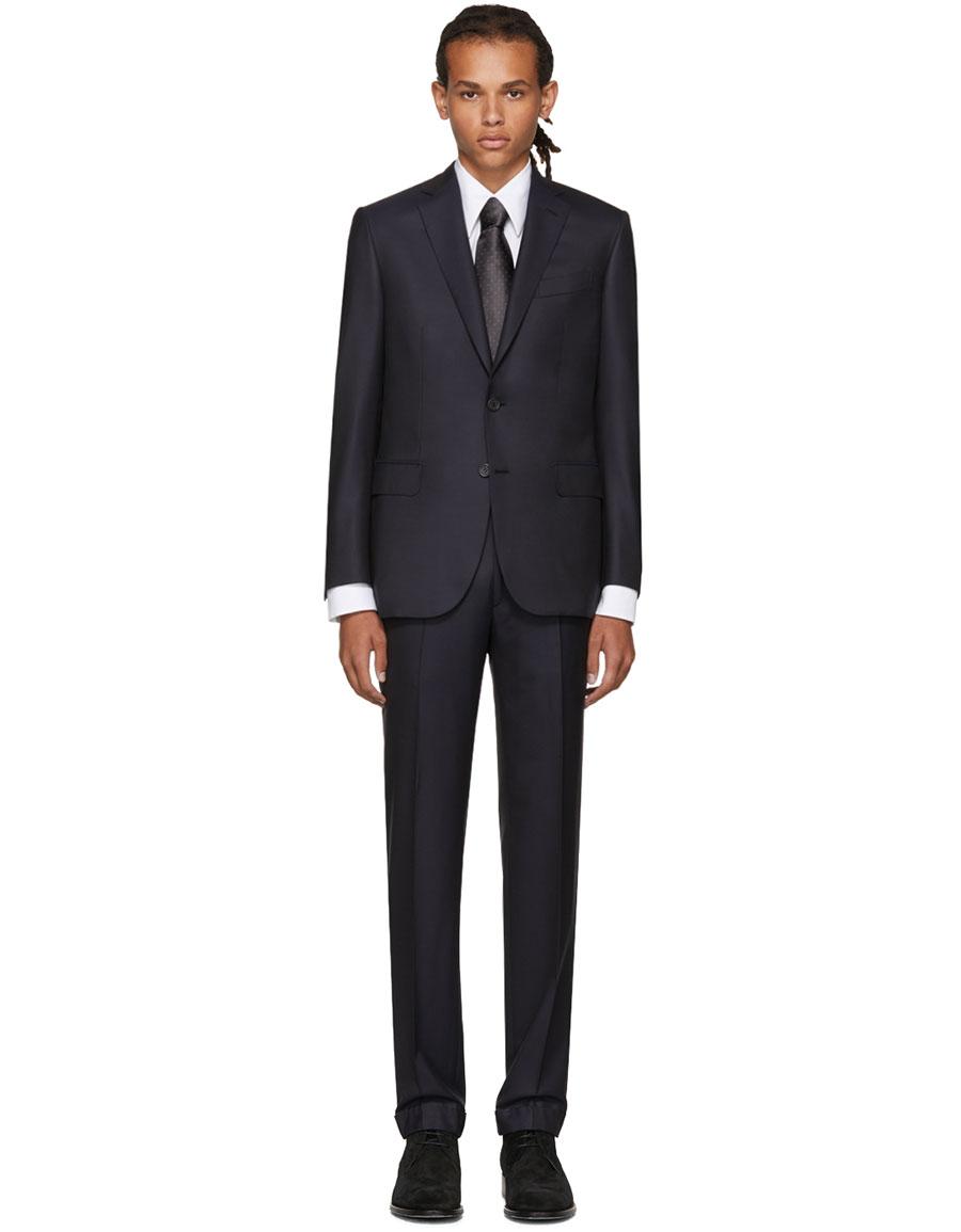 BRIONI Navy Madison Suit