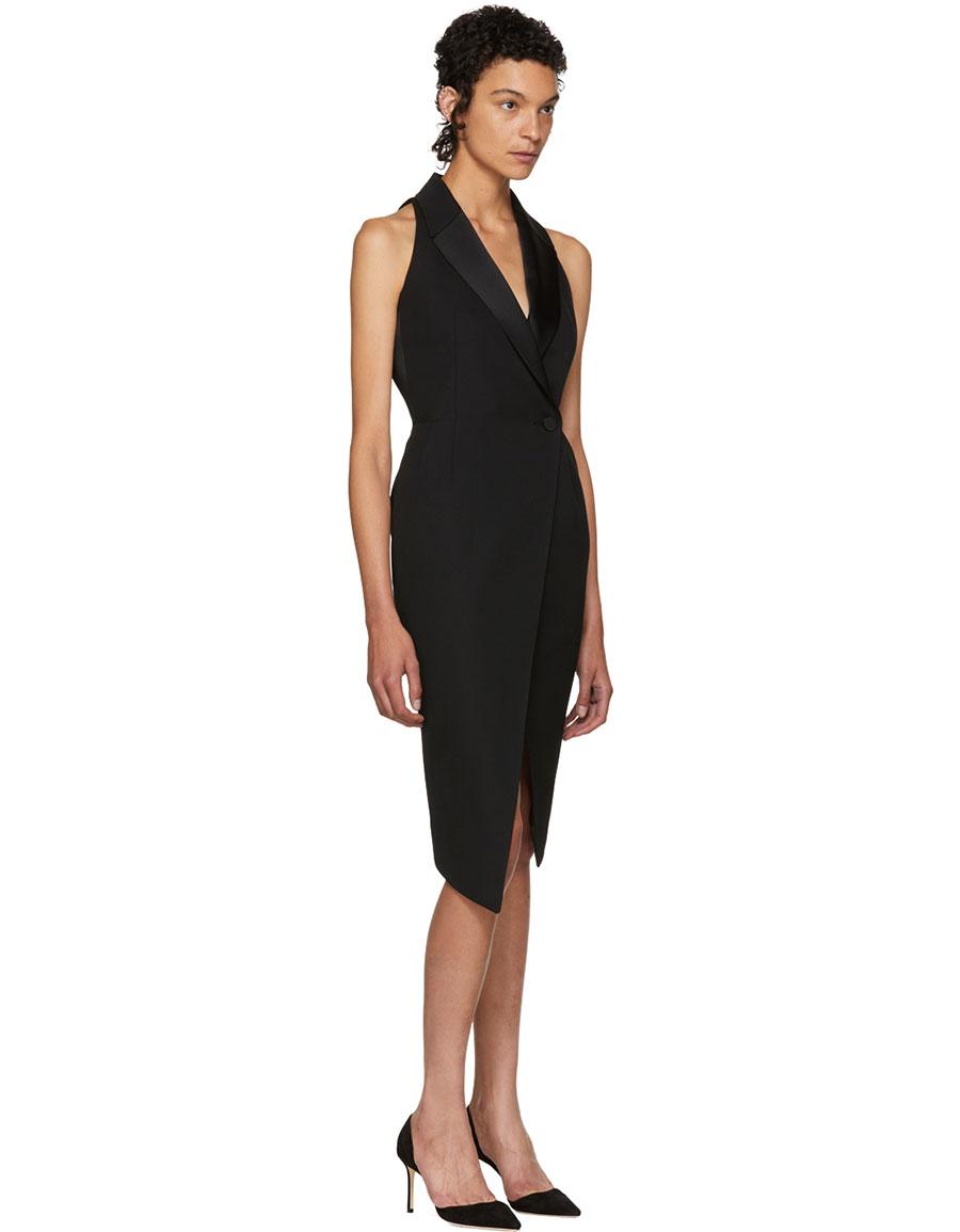 PALLAS Black Bacall Blazer Dress