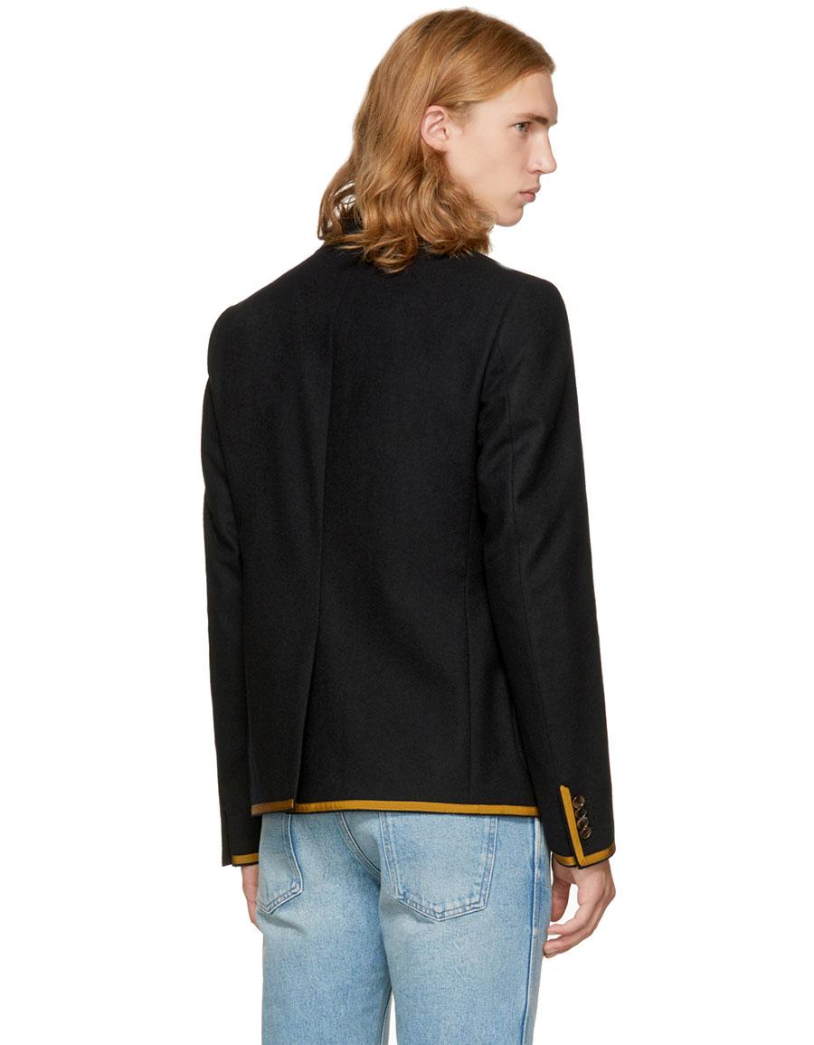 GUCCI Black Formal Blazer