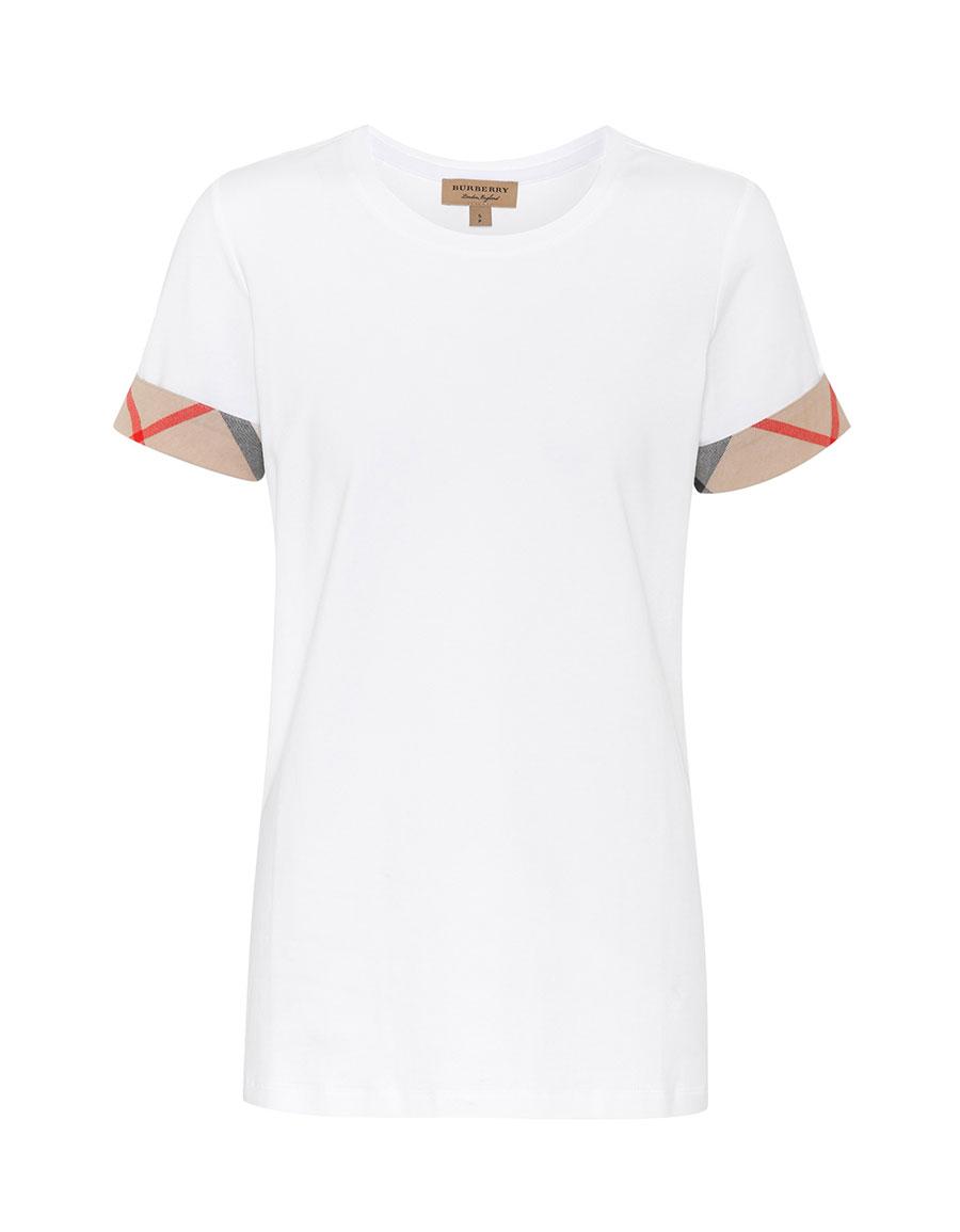 BURBERRY Cotton T shirt