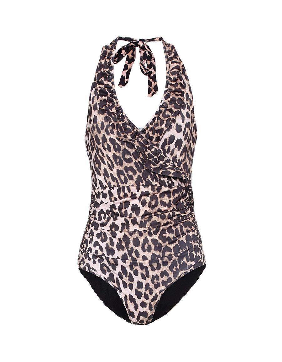 GANNI Belrose one piece swimsuit