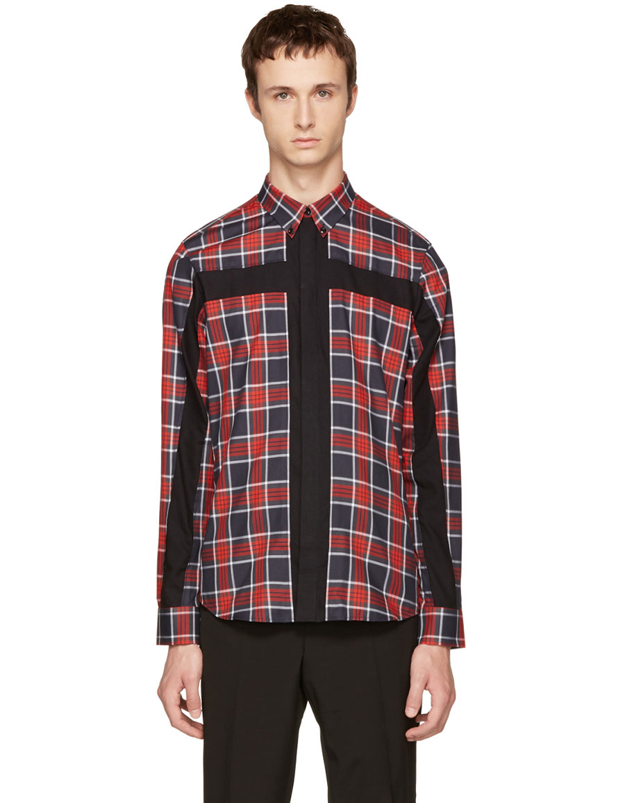 givenchy red shirt