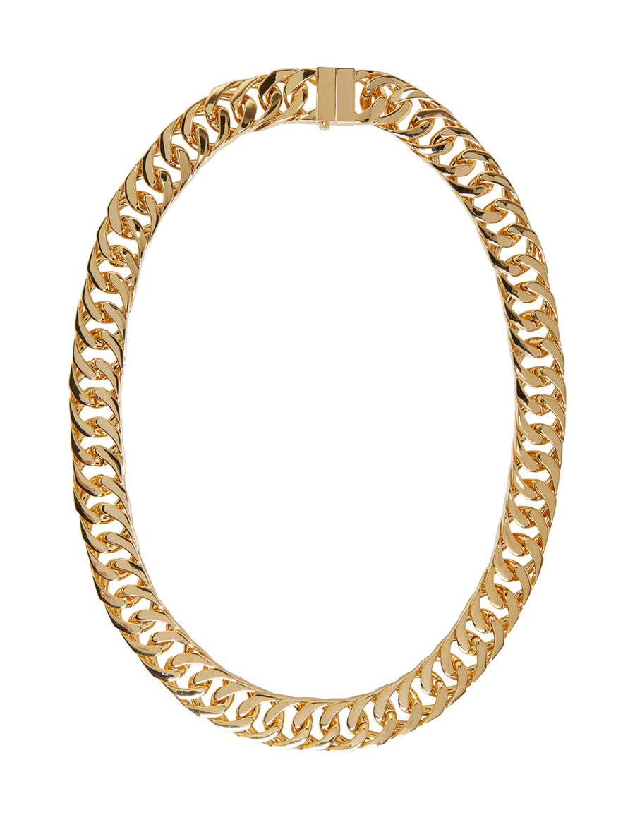 AMBUSH Gold New Classic Chain 2 Necklace