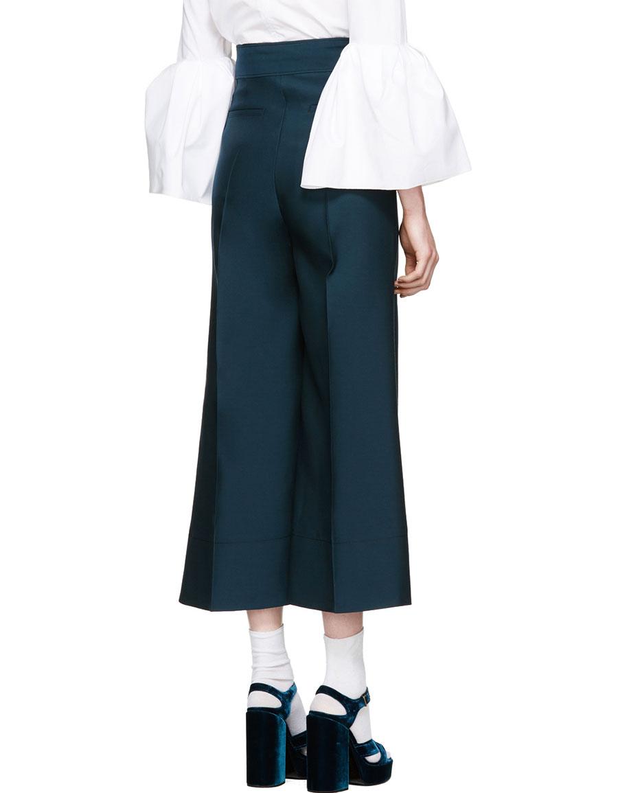 ROKSANDA Green Hasani Trousers