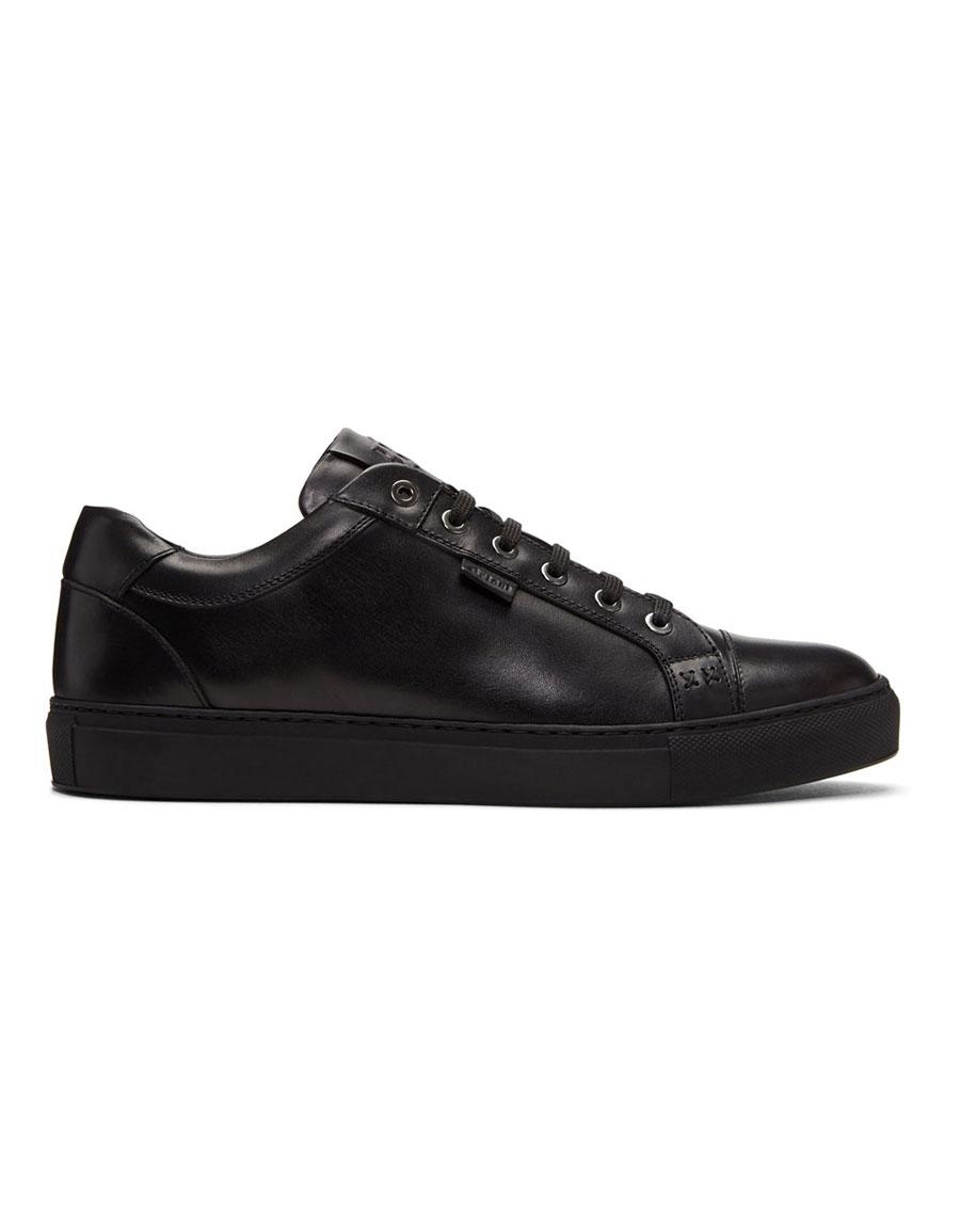 BRIONI Black Derek Sneakers