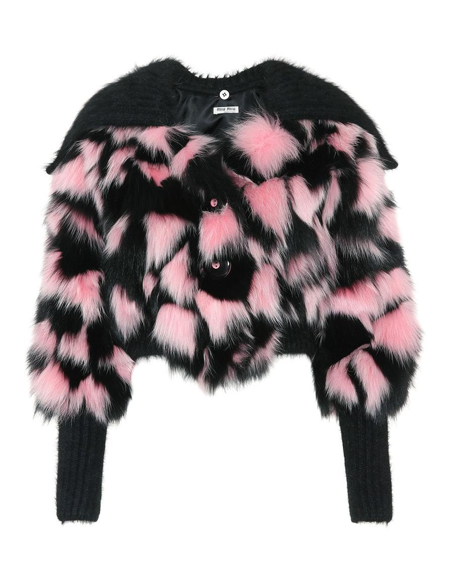 MIU MIU Fur jacket