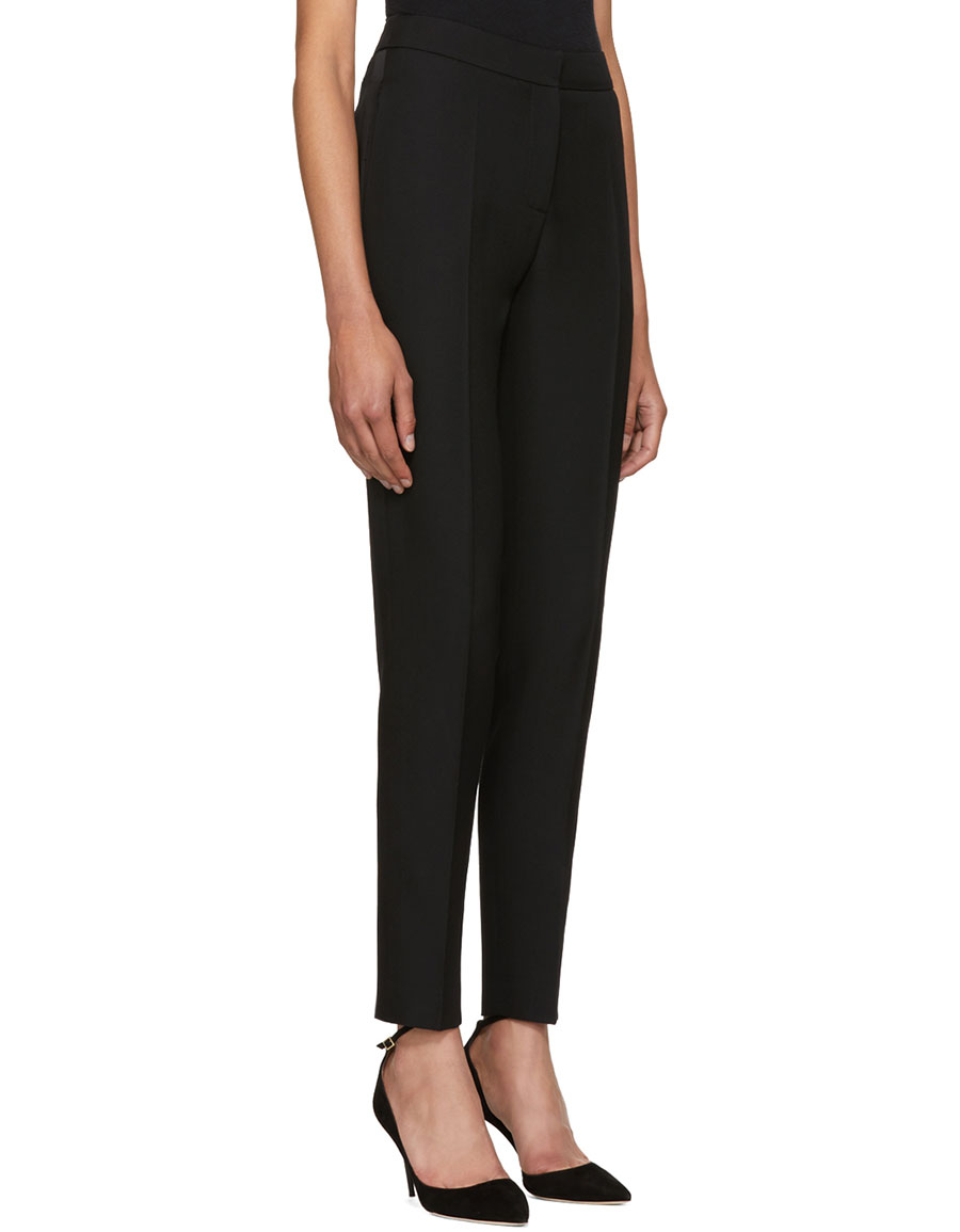 PALLAS Black Erakis Cigarette Trousers