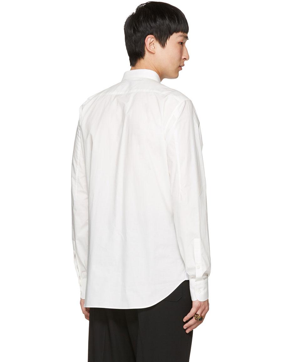 ALEXANDER MCQUEEN Off White Bird Shirt