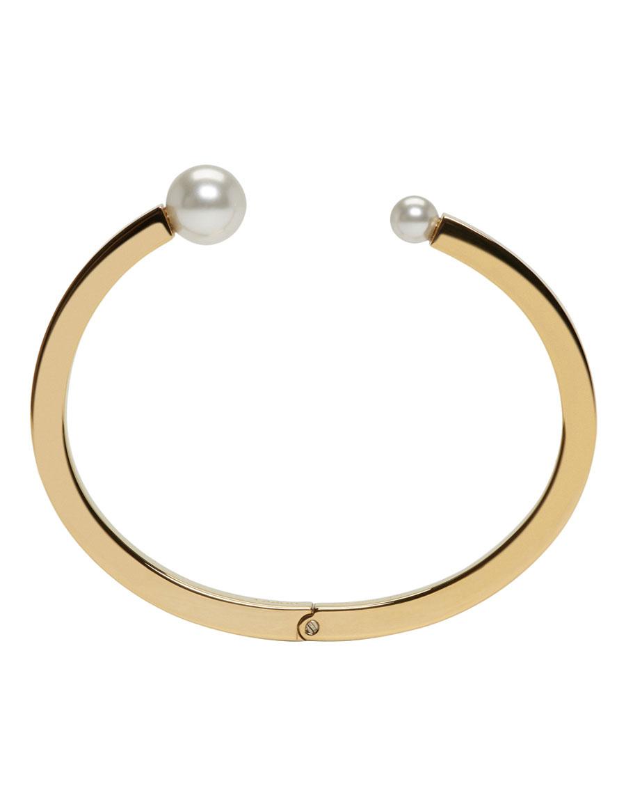CHLOÉ Gold Darcey Pearl Bracelet