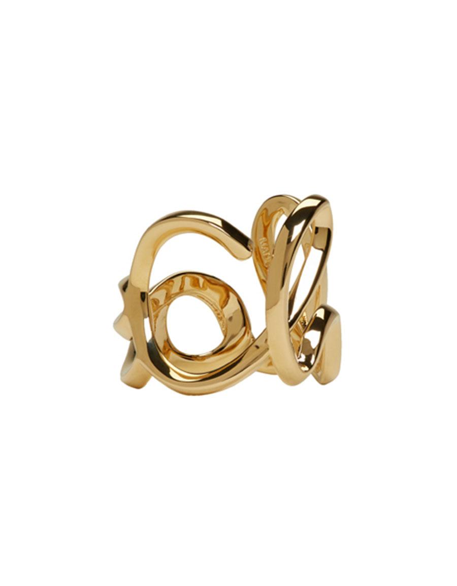 CHLOÉ Gold 'Love' Ring