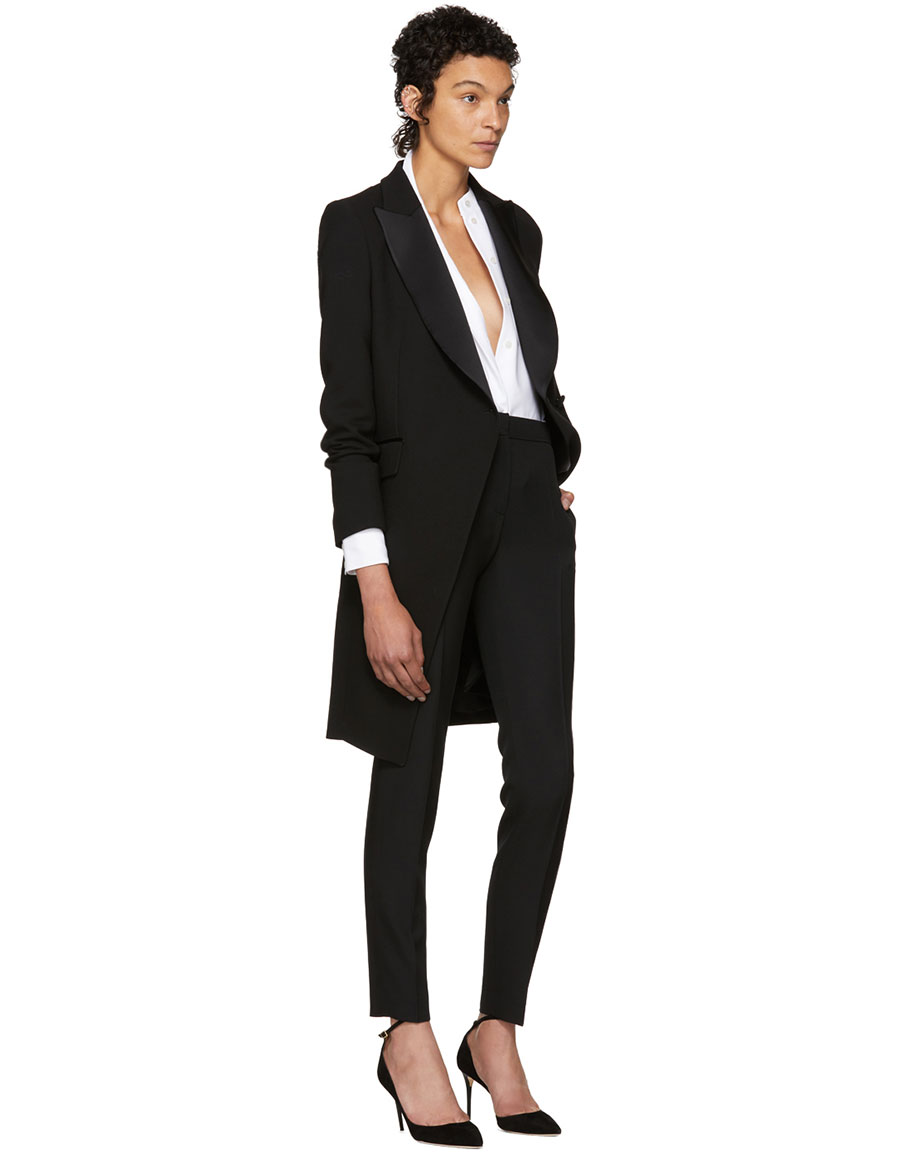 PALLAS Black Bauhaus Coat