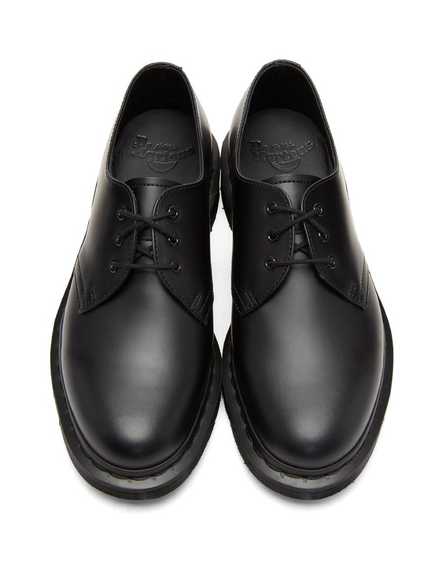 DR. MARTENS Black 1461 Mono Derbys