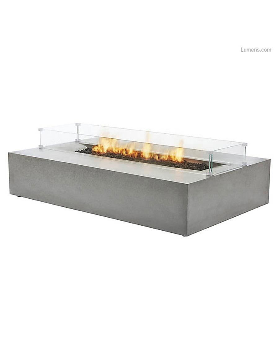 BROWN JORDAN FIRES Flo Fire Table
