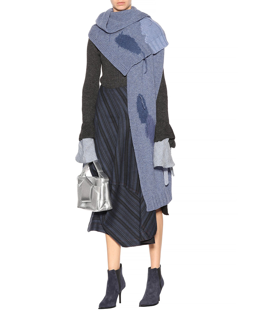 ACNE STUDIOS Olina S Patch wool blend scarf