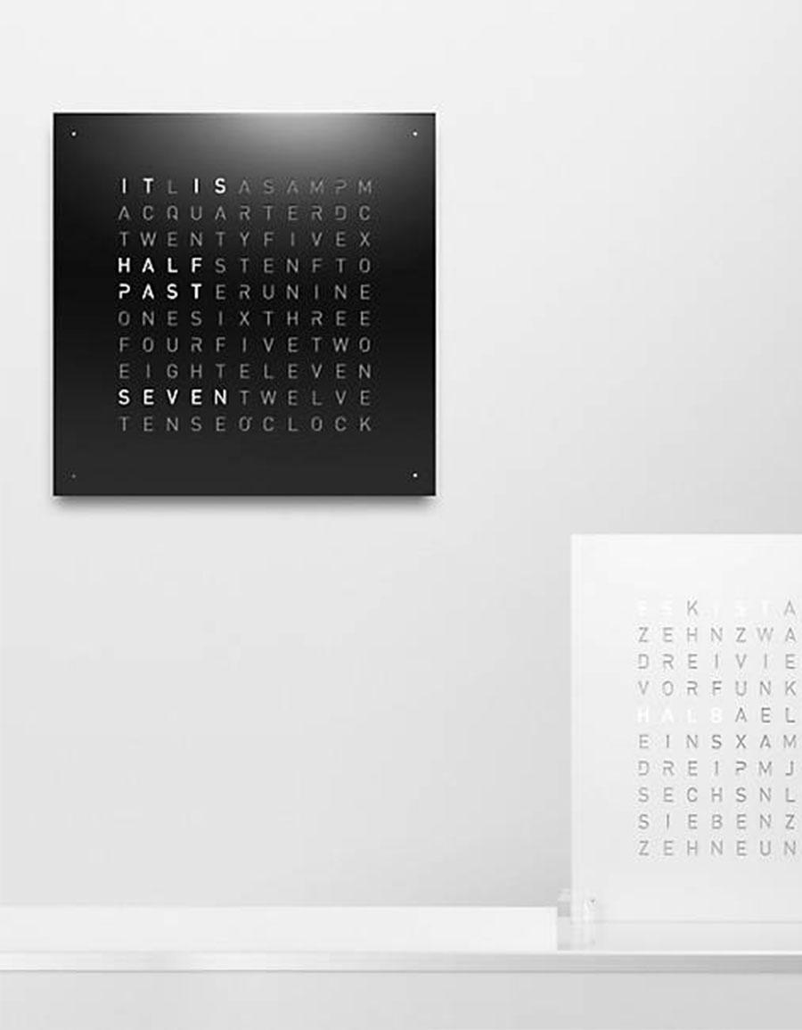 BIEGERT & FUNK QLOCKTWO Wall Clock
