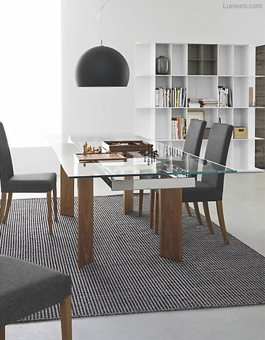 Calligaris Tower Wood Extension Table 183 Vergle