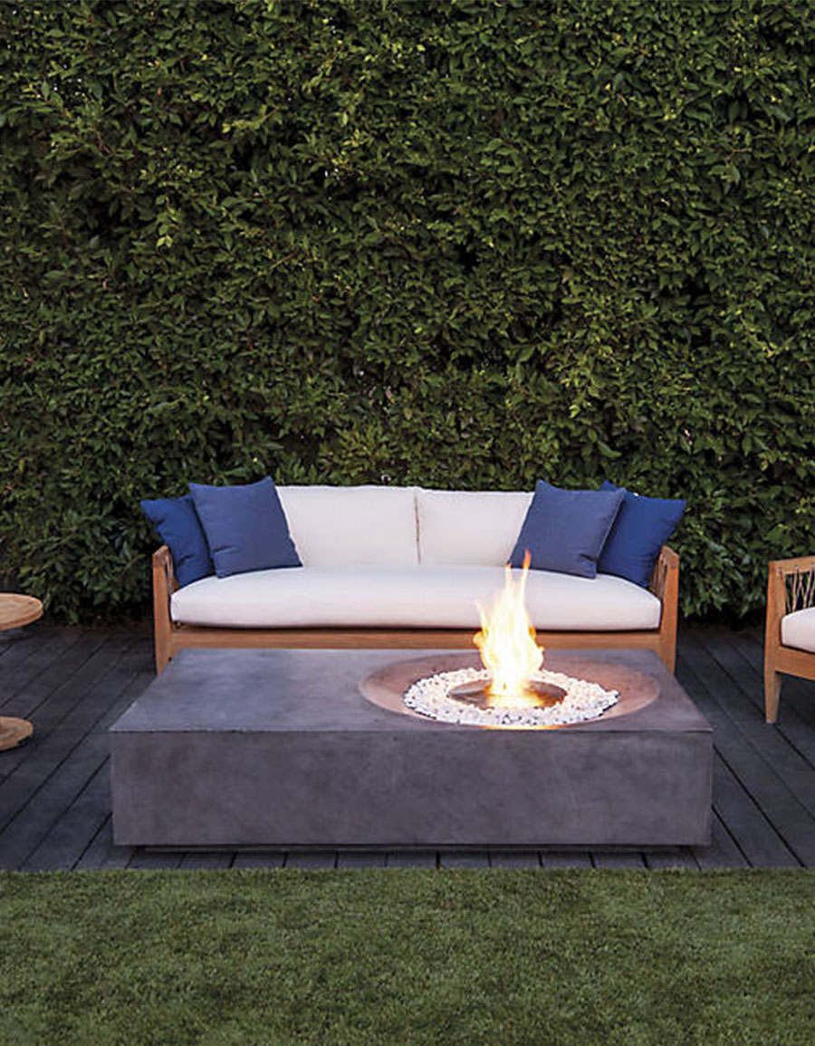 Brown jordan fires equinox fire table vergle for Brown jordan fires