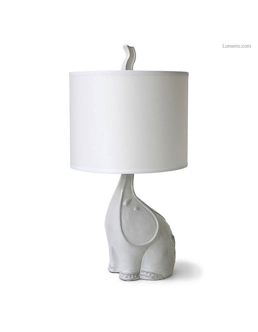 JONATHAN ADLER Utopia Elephant Table Lamp