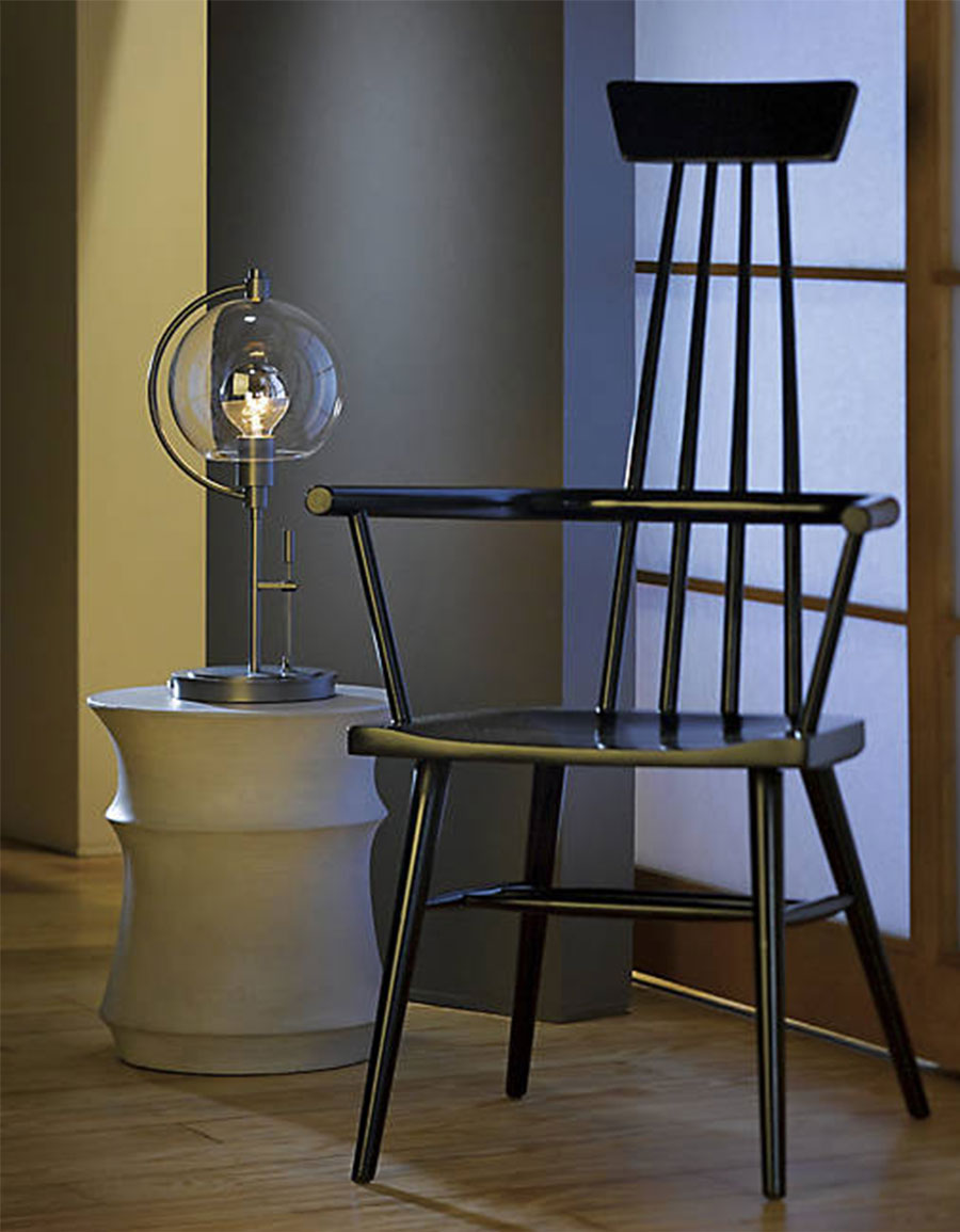 HUBBARDTON FORGE Pluto Table Lamp