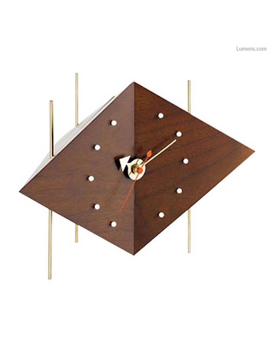 GEORGE NELSON Diamond Clock