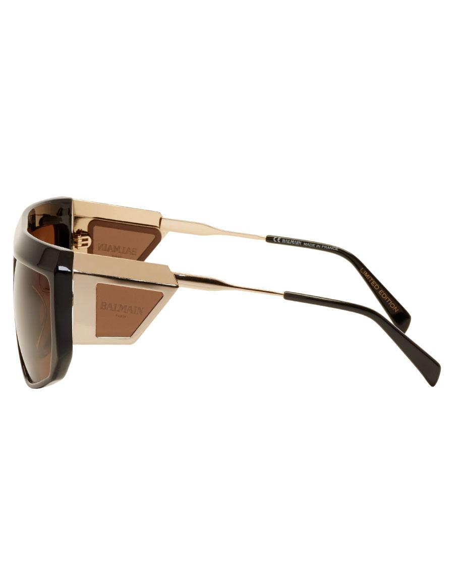 BALMAIN Black & Gold Limited Edition Sunglasses