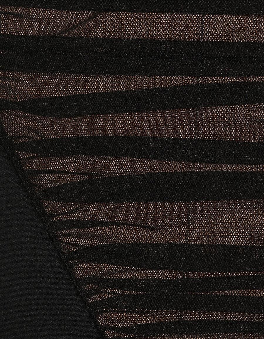 ALEXANDER WANG Strapless crêpe gown
