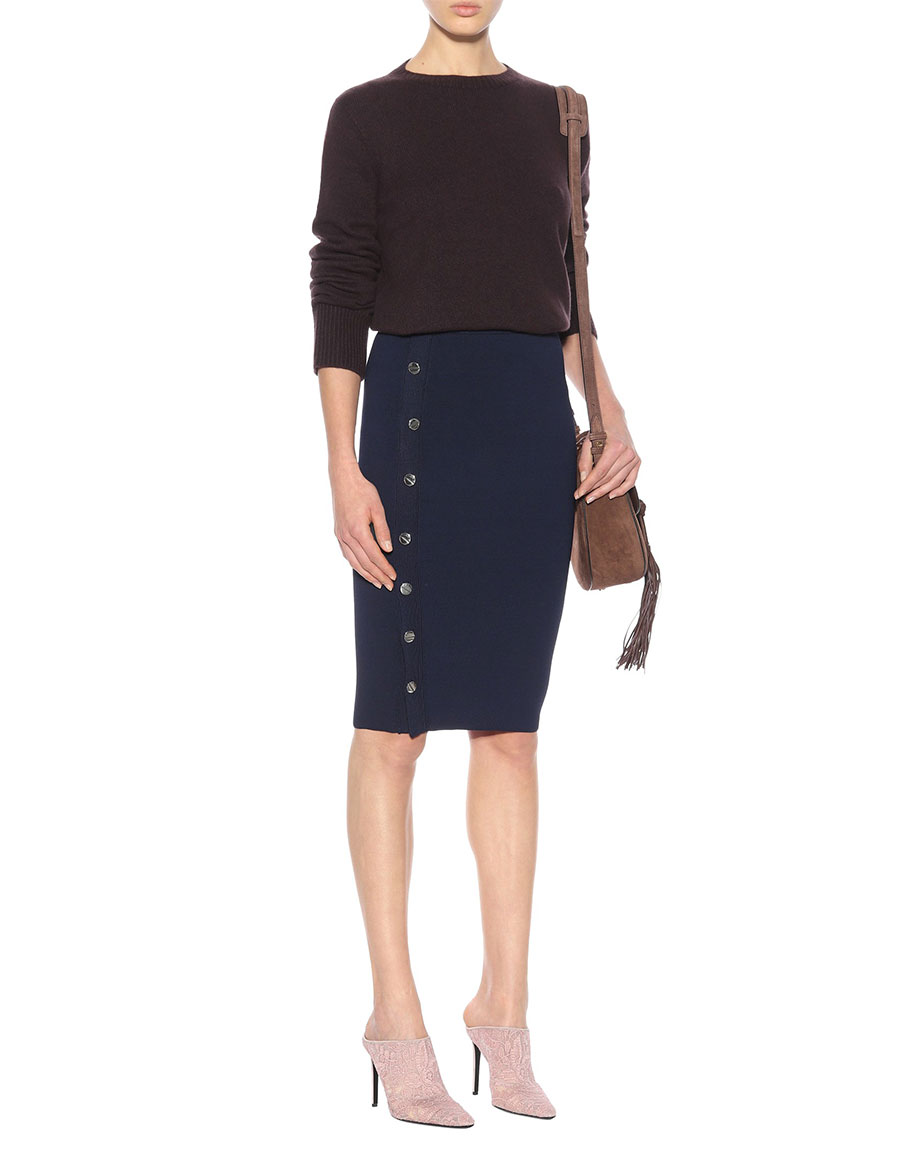 ALTUZARRA Enya stretch jersey skirt