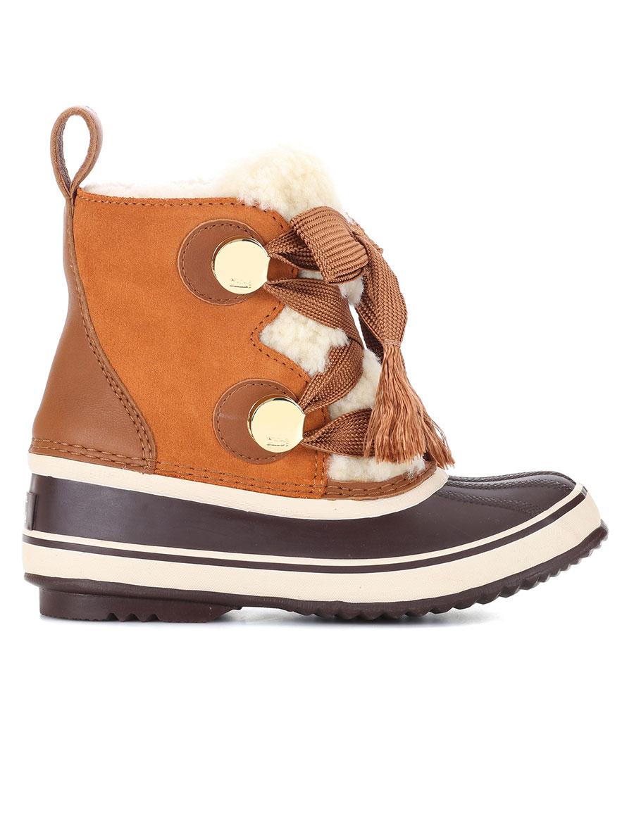 Chlo 201 X Sorel Joan Of Arctic Suede Boots 183 Vergle