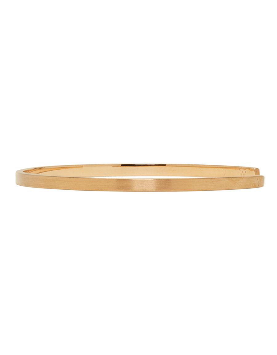 LE GRAMME Rose Gold Brushed 'Le 7 Grammes' Bracelet