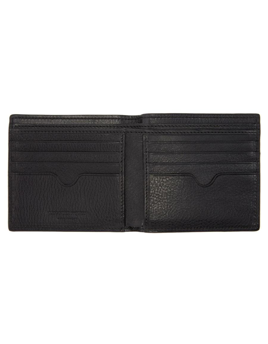 ALEXANDER MCQUEEN Black Studded Skull Wallet