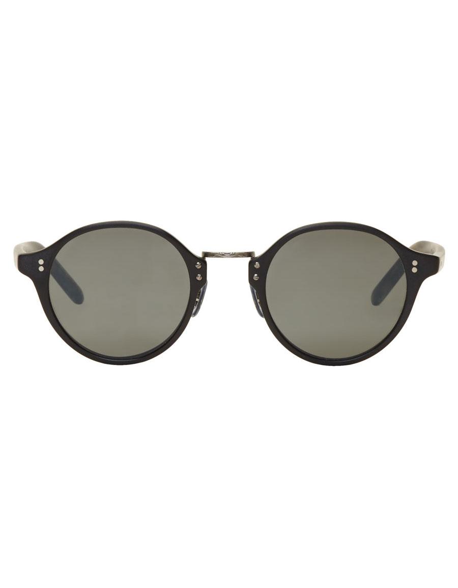 OLIVER PEOPLES Black Vintage OP 1955 Sunglasses
