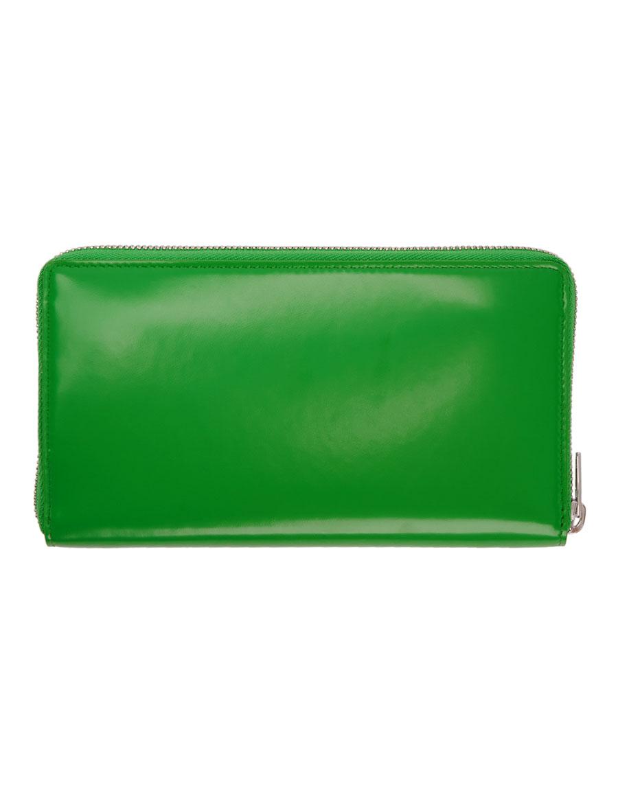 BALENCIAGA Green Essential Continental Wallet