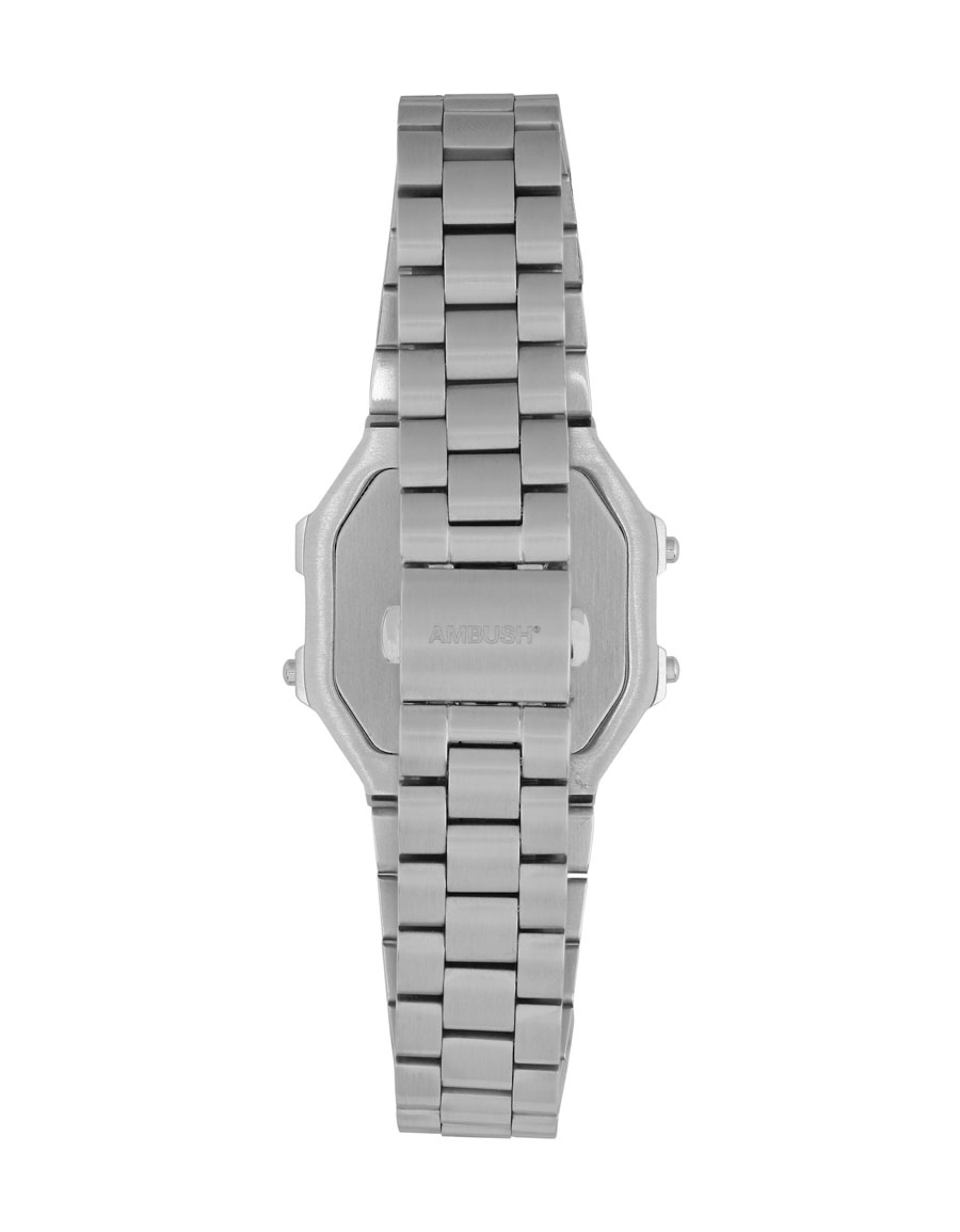 AMBUSH Silver Timeless Watch Bracelet