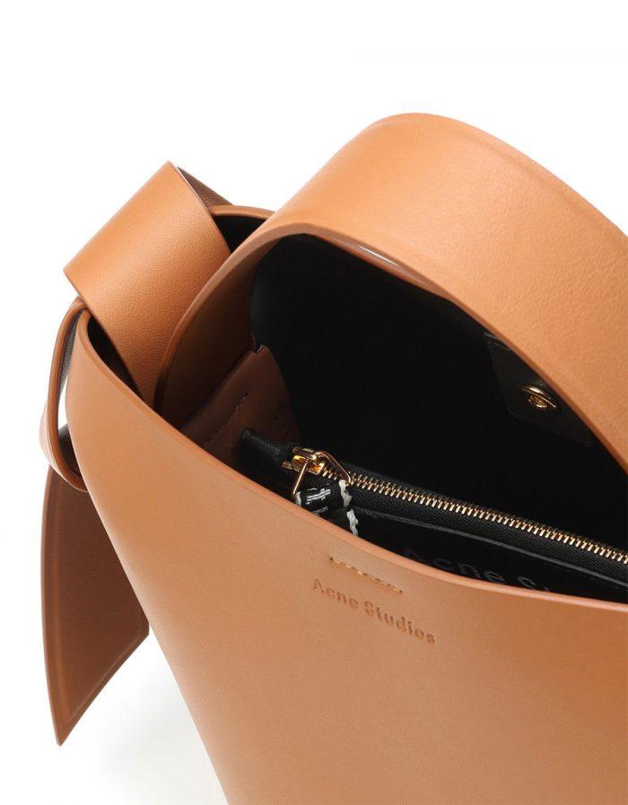 ACNE STUDIOS Musubi Mini leather shoulder bag
