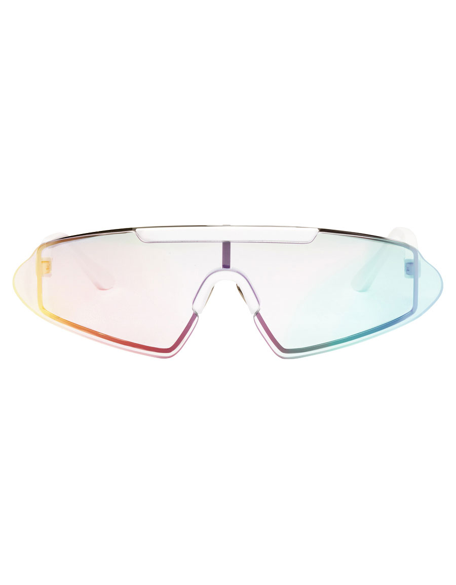 ACNE STUDIOS White Bornt Sunglasses
