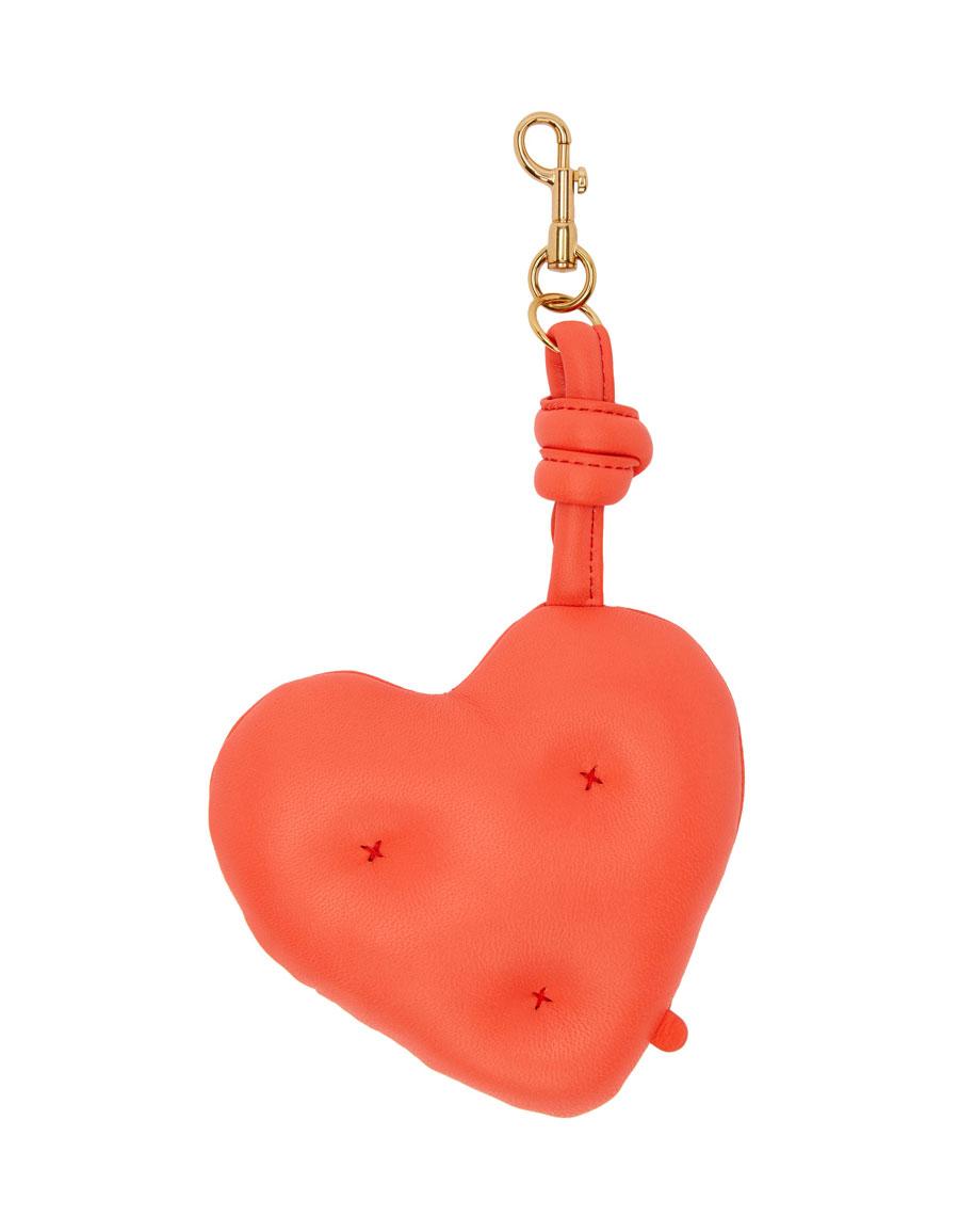 ANYA HINDMARCH Red Chubby Charm Wink Keychain