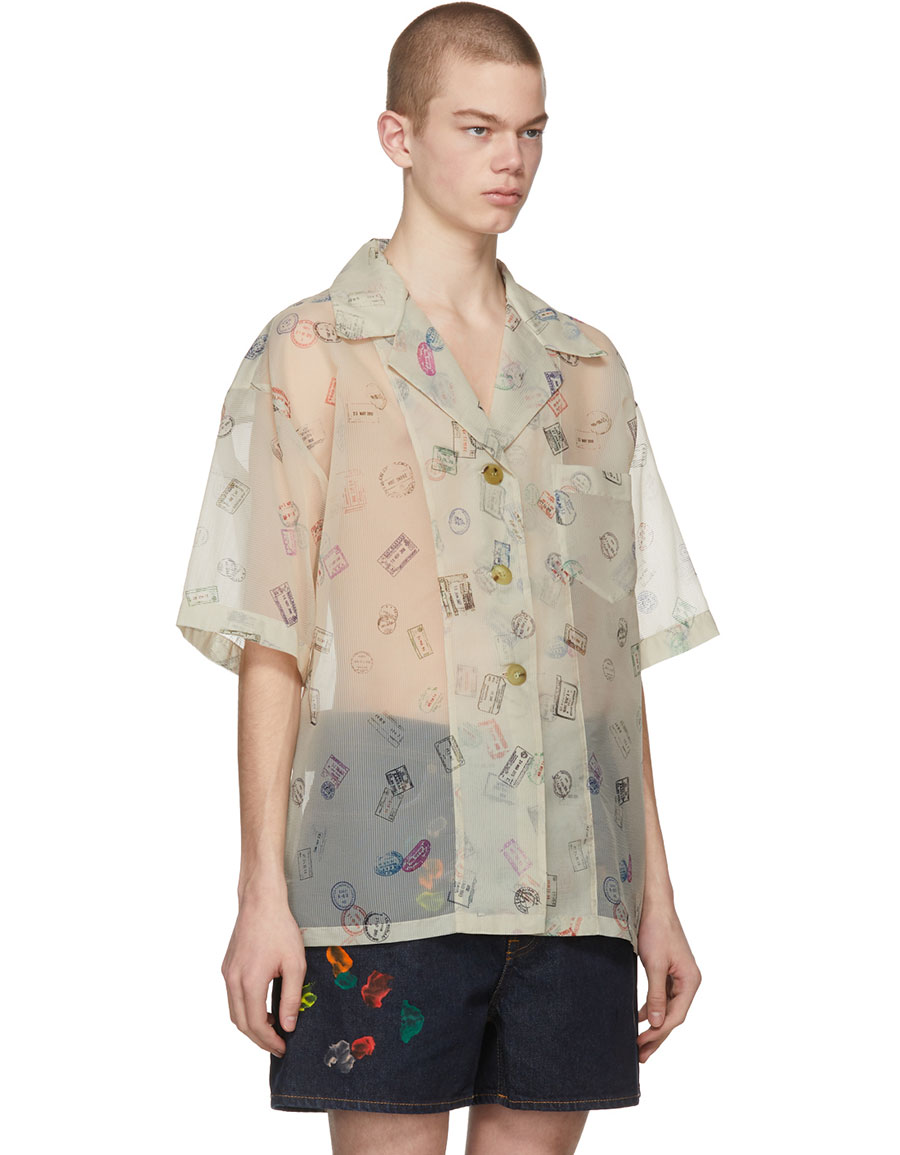 ACNE STUDIOS Off White Relovo Shirt