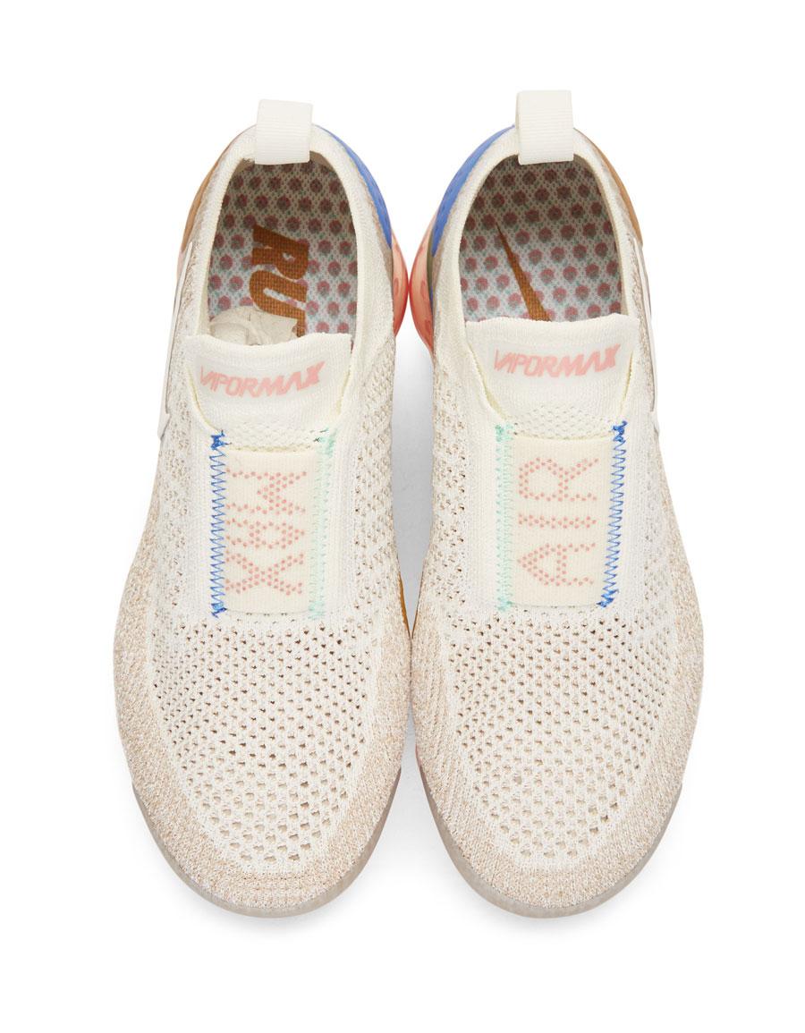 NIKE Beige Vapormax Flyknit MOC 2 Sneakers