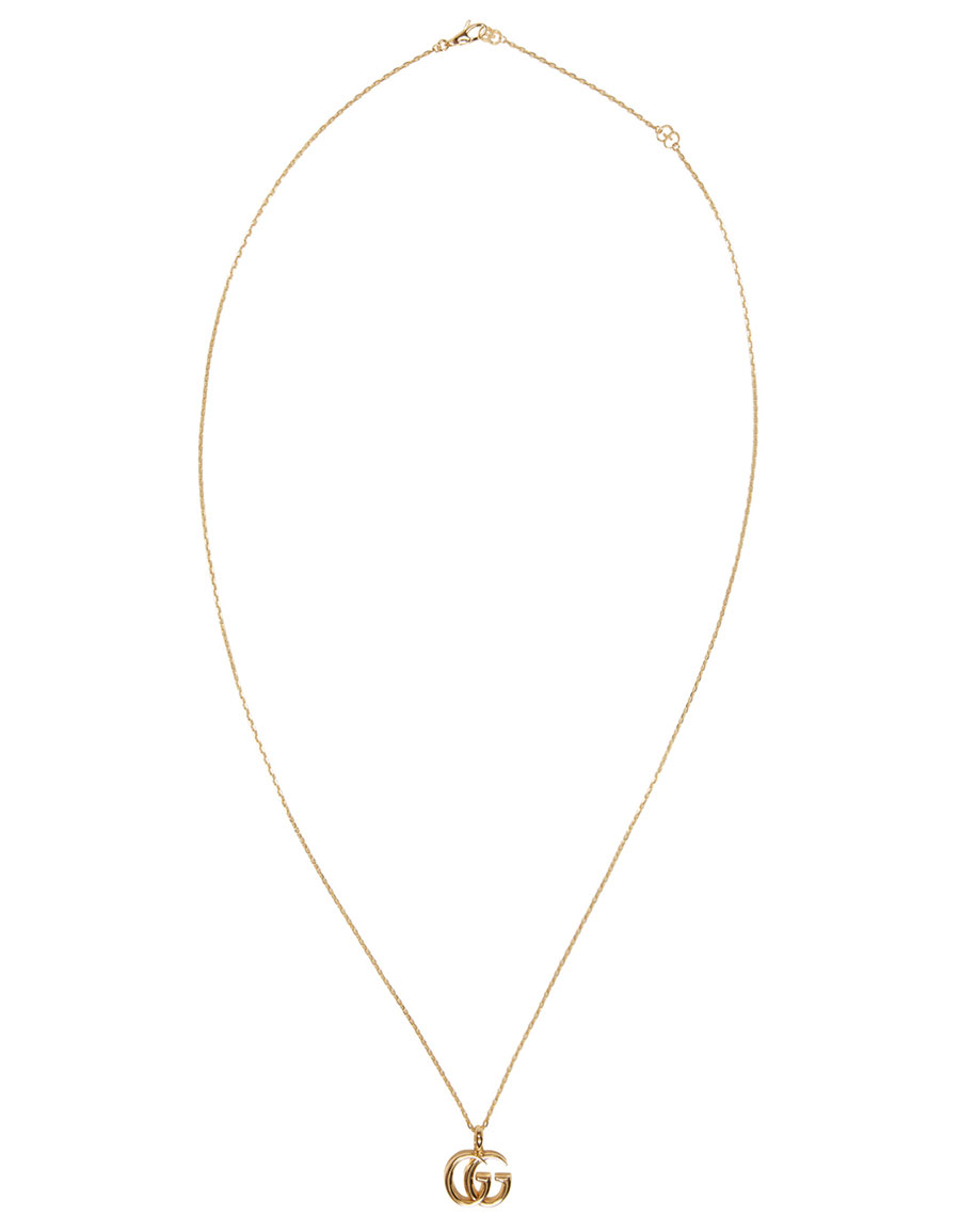 GUCCI Gold GG Running Necklace