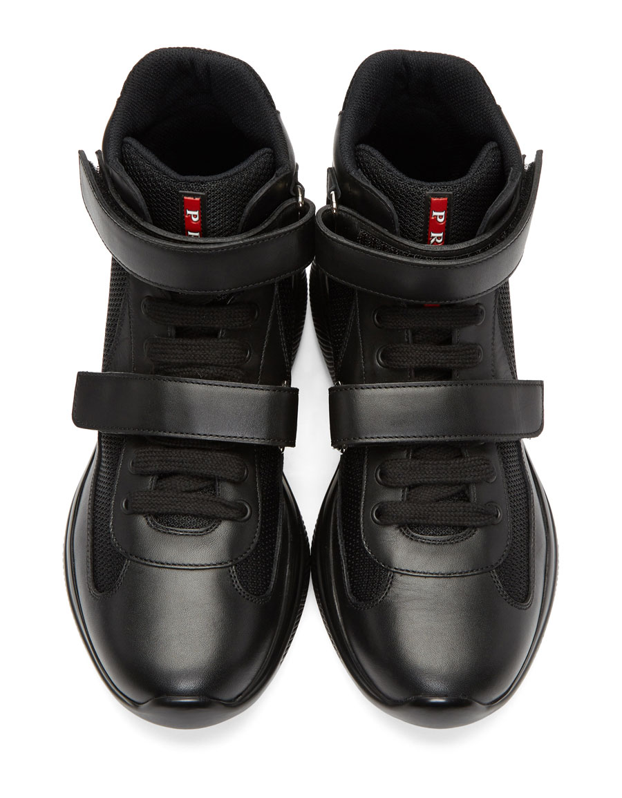 high top sneakers with velcro