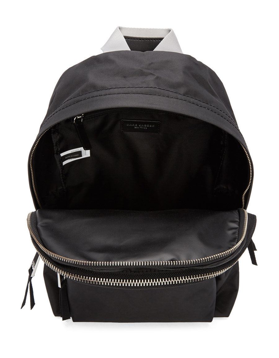 MARC JACOBS Black Medium Backpack
